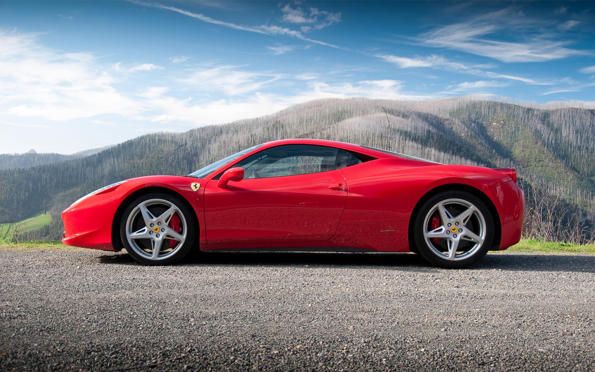 Drive the new Ferrari 458 Italia