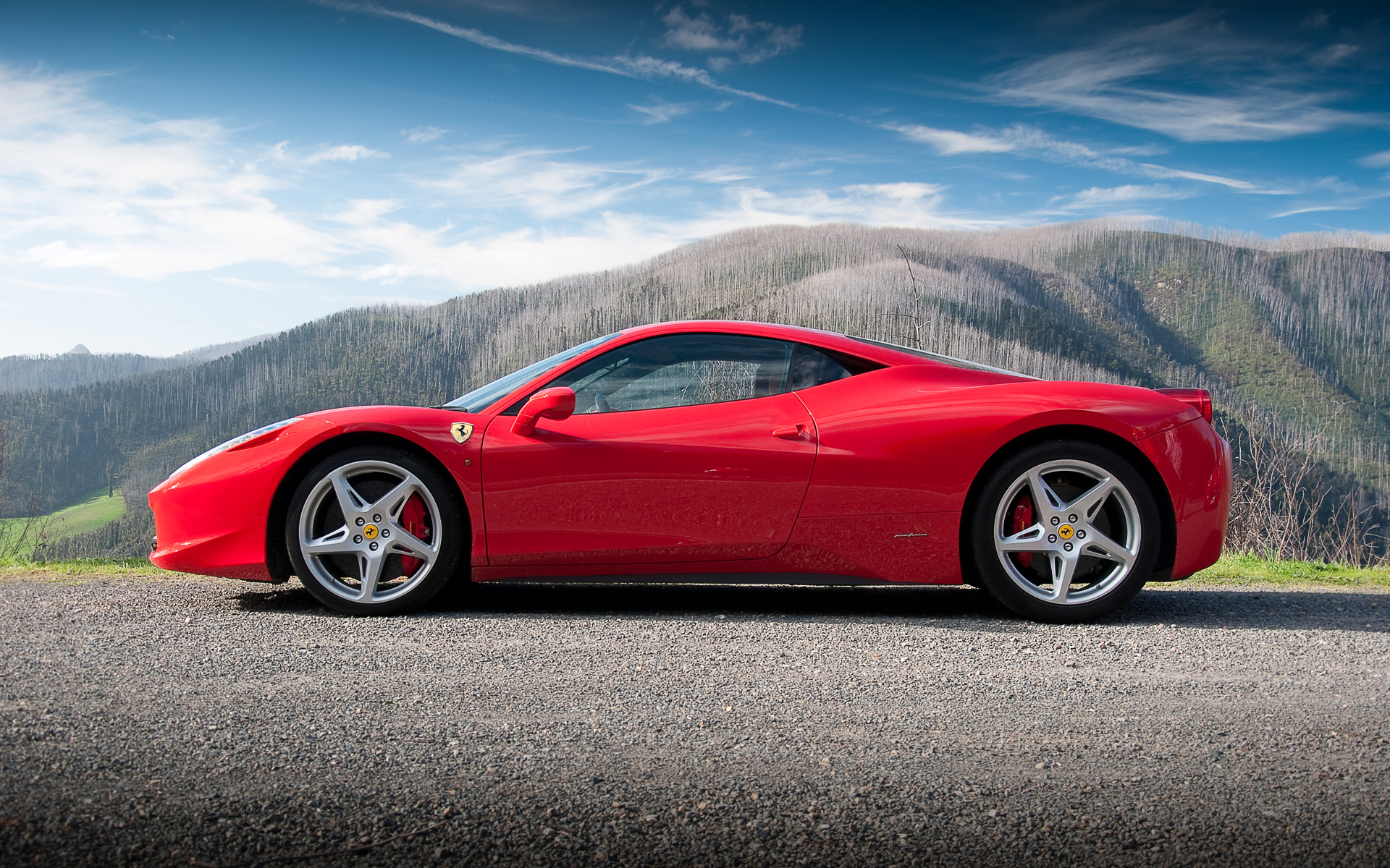 Drive the new Ferrari 458 Italia