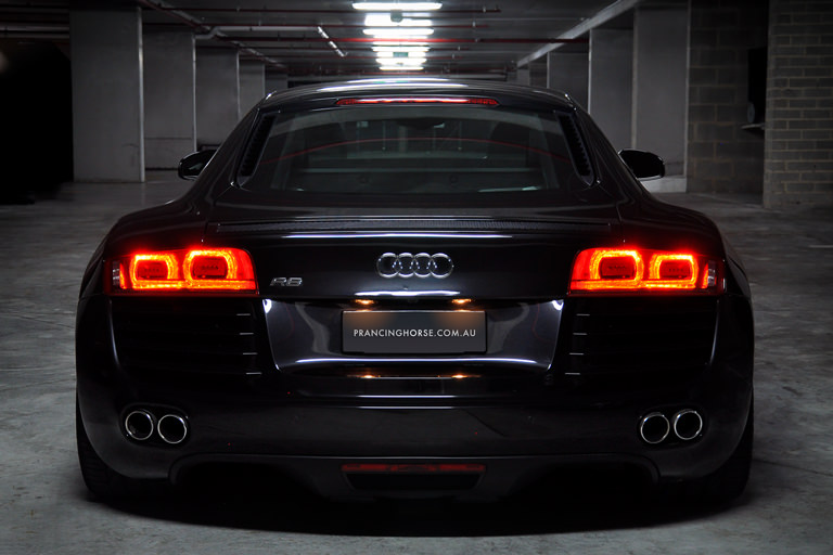 Audi R Coupe Rear Prancing Horse Drive Experiences