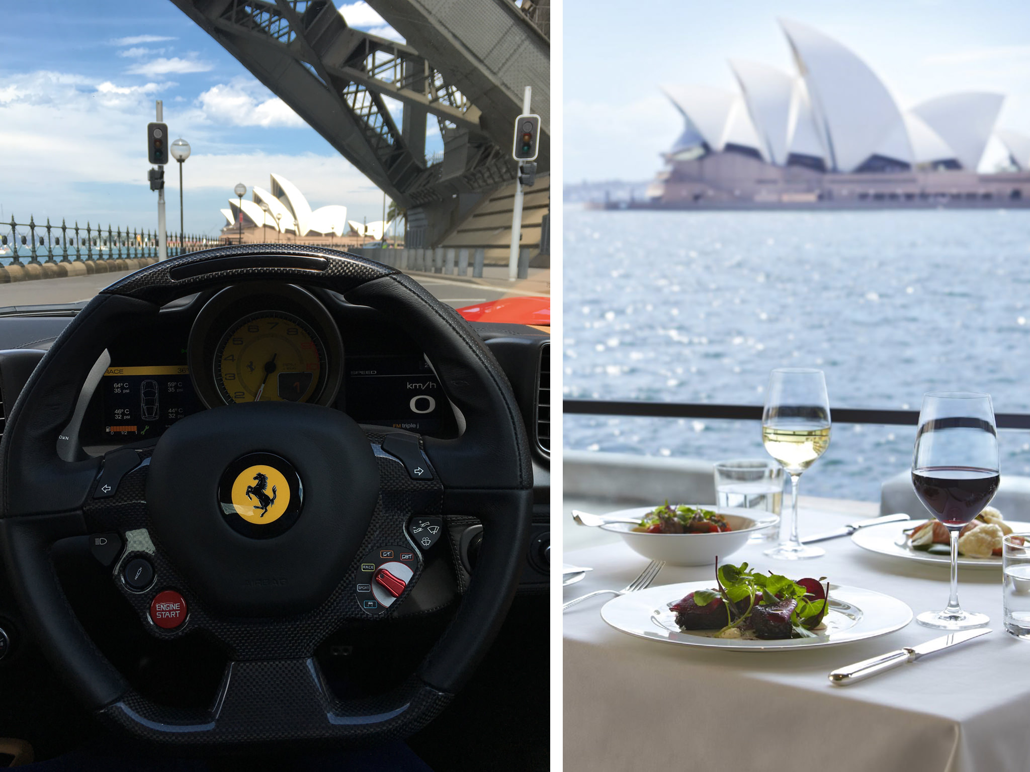... Prancing Horse Tailored Ferrari Drive And Dine Experience   The Dining  Room At The Park Hyatt