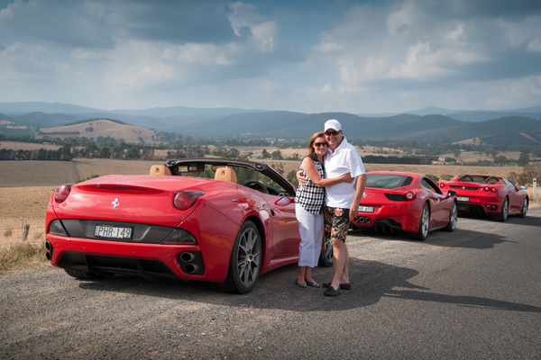 Ferrari Supercar Drive Day in the Yarra Valley Victoria