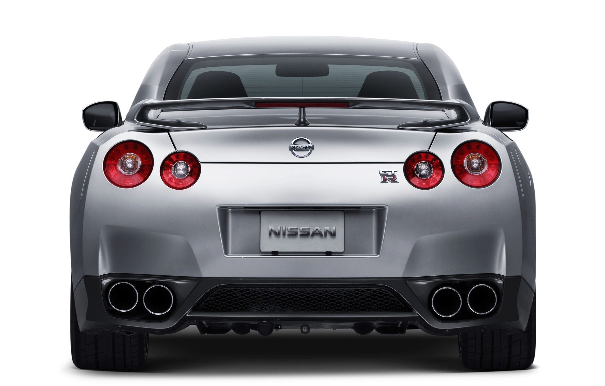 Nissan GTR R35 Rear View