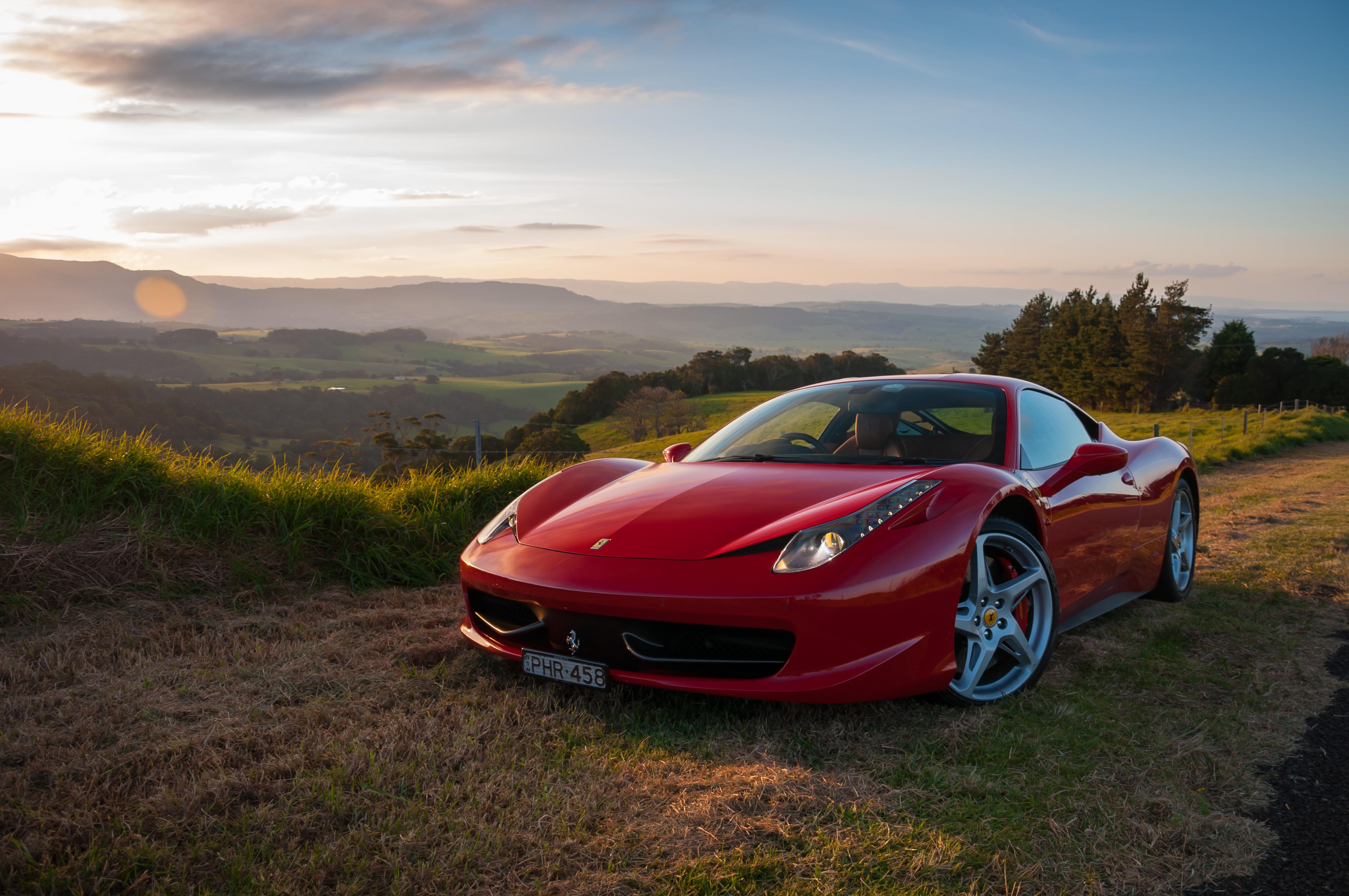 Ferrari 458 Italia Sunset 183 Prancing Horse