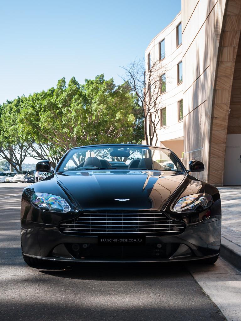 Aston Martin Vantage S Roadster Convertible · Prancing Horse on aston v12 vantage, v8 vantage, white v12 vantage, aston rapide s, aston v8, aston db, car model vantage, 2007 aston vantage, aston vanquish volante, aston martin's fresh, aston one-77,