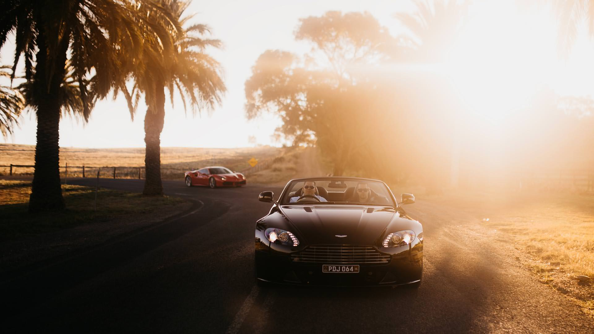 Aston Martin Supercar Driving Experience - Adelaide Hills and Barossa Valley South Australia 2019