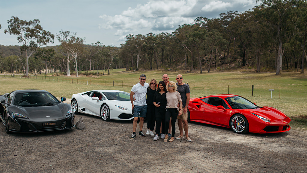 Drive a Ferrari Lamborghini and McLaren in the Hunter Valley New South Wales Australia
