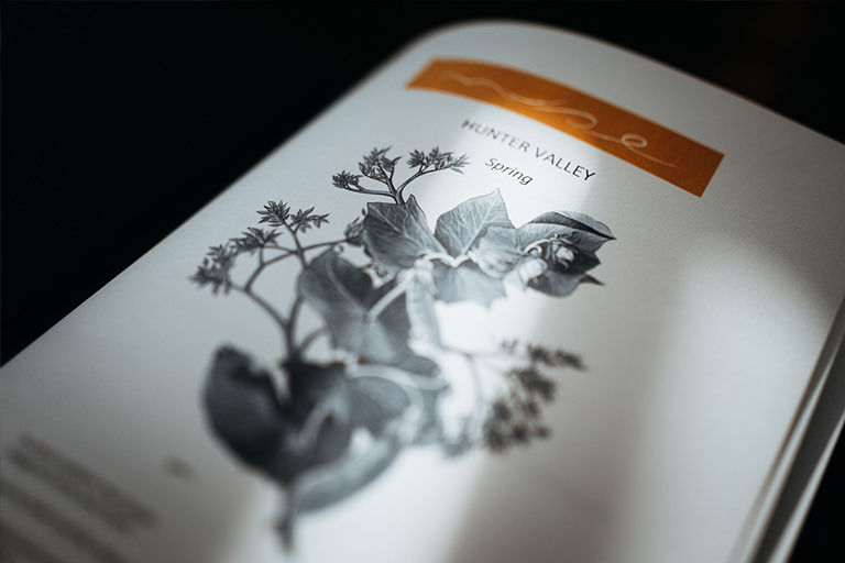 Spring Menu - Muse Restaurant in the Hunter Valley, New South Wales