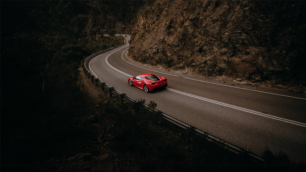 Ferrari Luxury Driving Experience Adelaide Hills South Australia