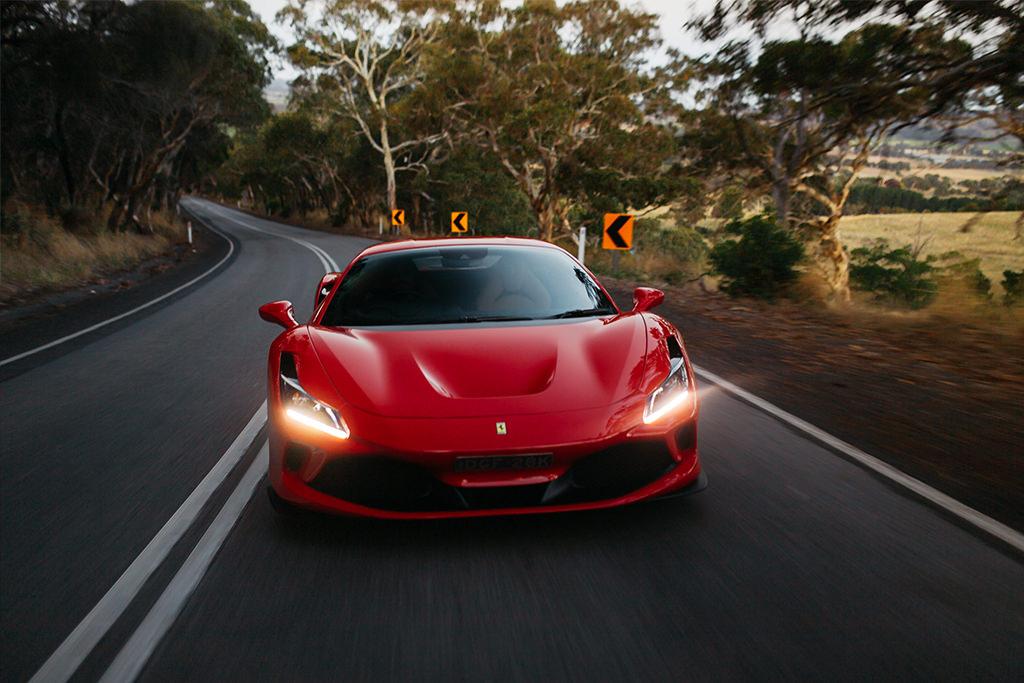 Drive a Ferrari F8 Tributo - Sequoia Adelaide Hills